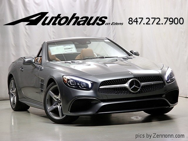 New 2018 mercedes benz sl sl 550 roadster in northbrook for Mercedes benz loyalty program