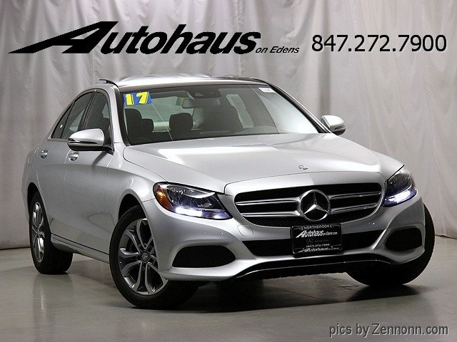 Pre owned 2017 mercedes benz c class c 300 sedan in for Mercedes benz 745